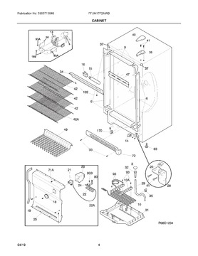 297283800 Hinge Upper Ideal Appliance Parts