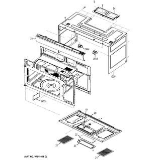 Wb34x25406 Grille Vent Ideal Appliance Parts