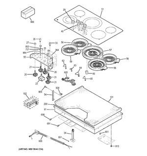 Wb30t10151 Element Haliant 12 Quot Ideal Appliance Parts