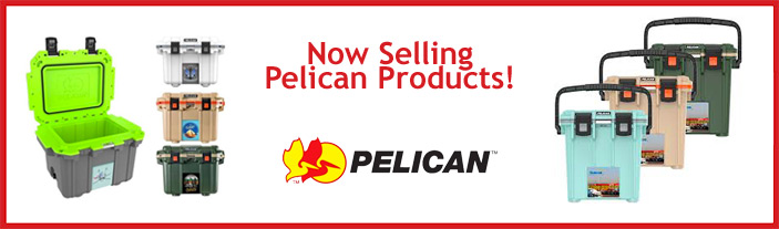 Proudly selling Pelican Products