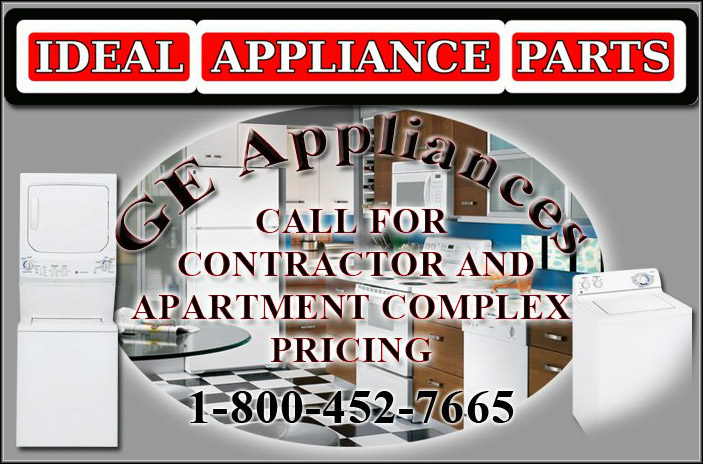 GE Appliances - Call for contractor and apartment complex pricing (1-800-452-7665)