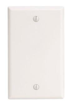 609000 1 White Standard Gang Wallplate Ideal Appliance